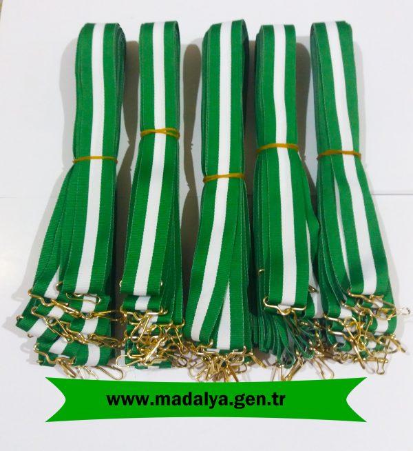 beyaz-yeşil-madalya-kurdelesi